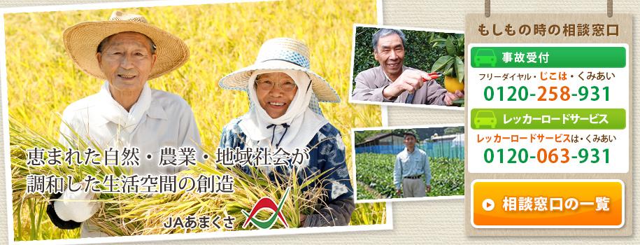 恵まれた自然・農業・地域社会が調和した生活空間の創造 / JAあまくさ